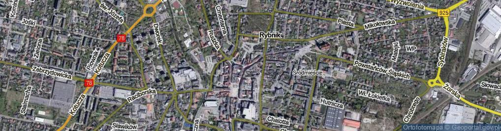 Zdjęcie satelitarne Jana III Sobieskiego