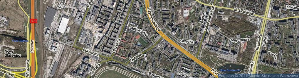 Zdjęcie satelitarne Jadźwingów