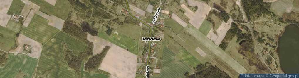 Zdjęcie satelitarne Jemiołowo ul.