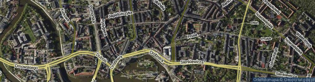 Zdjęcie satelitarne Kilińskiego Jana, płk.