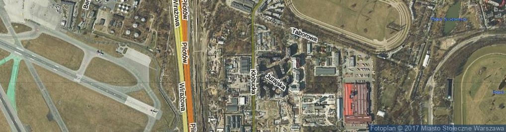 Zdjęcie satelitarne Kłobucka