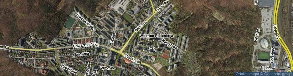 Zdjęcie satelitarne Konwaliowa
