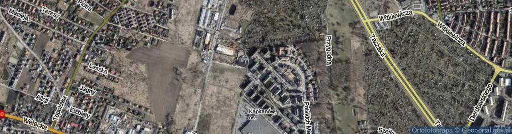 Zdjęcie satelitarne Kopańskiego Stanisława, gen.