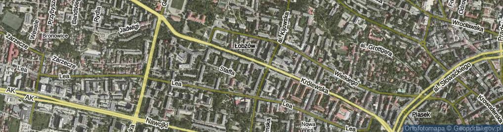 Zdjęcie satelitarne Kronikarza Galla