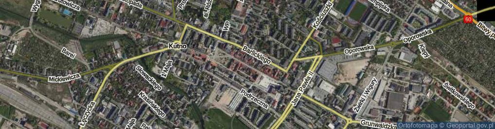 Zdjęcie satelitarne Królewska