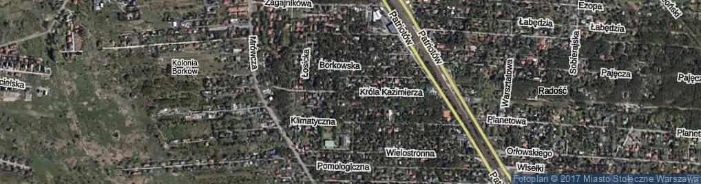 Zdjęcie satelitarne Króla Kazimierza