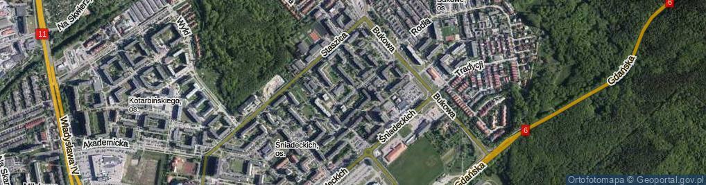 Zdjęcie satelitarne Lelewela Joachima