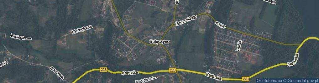 Zdjęcie satelitarne Lewinowo
