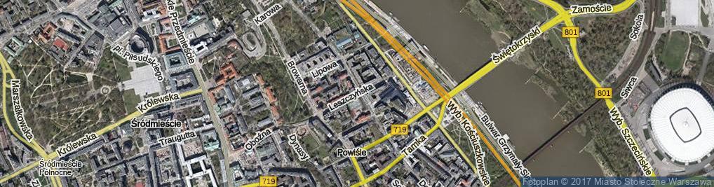 Zdjęcie satelitarne Leszczyńska