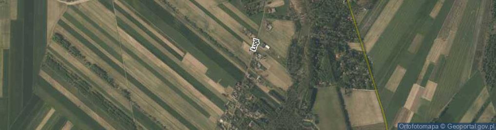 Zdjęcie satelitarne Ługi ul.