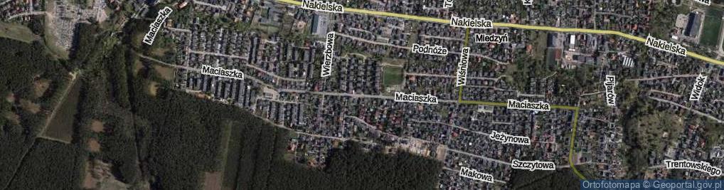 Zdjęcie satelitarne Maciaszka Jana ul.