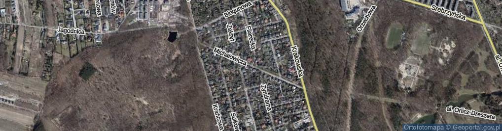 Zdjęcie satelitarne Michałowicza Jerzego ul.