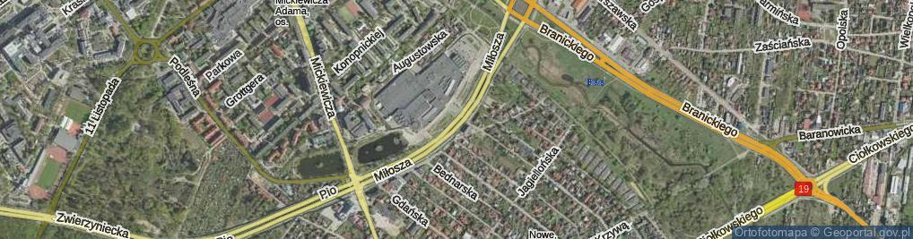 Zdjęcie satelitarne Miłosza Czesława