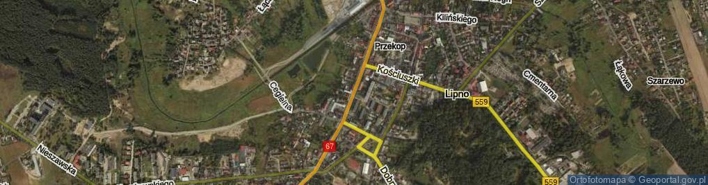 Zdjęcie satelitarne Mickiewicza Adama