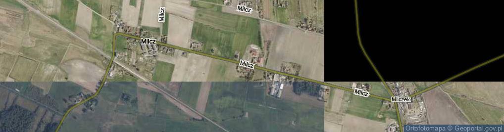 Zdjęcie satelitarne Milcz ul.
