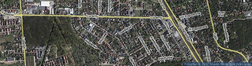 Zdjęcie satelitarne Mielecka