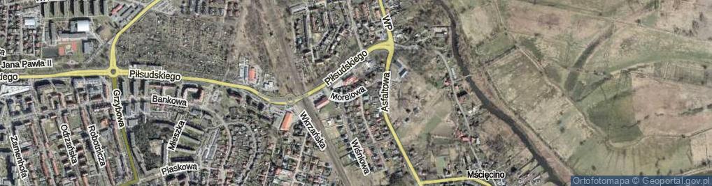Zdjęcie satelitarne Morelowa