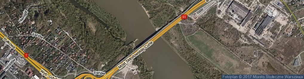 Zdjęcie satelitarne Most Północny most.