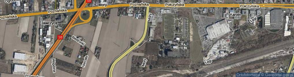 Zdjęcie satelitarne Mory ul.