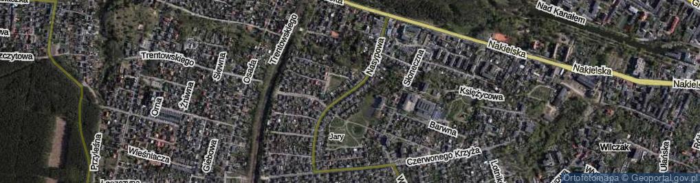Zdjęcie satelitarne Nasypowa