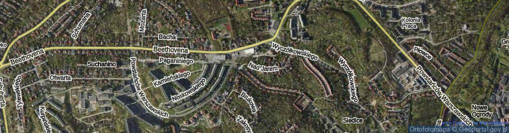 Zdjęcie satelitarne Nad Jarem ul.