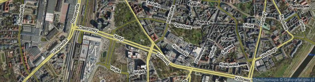 Zdjęcie satelitarne Niezłomnych