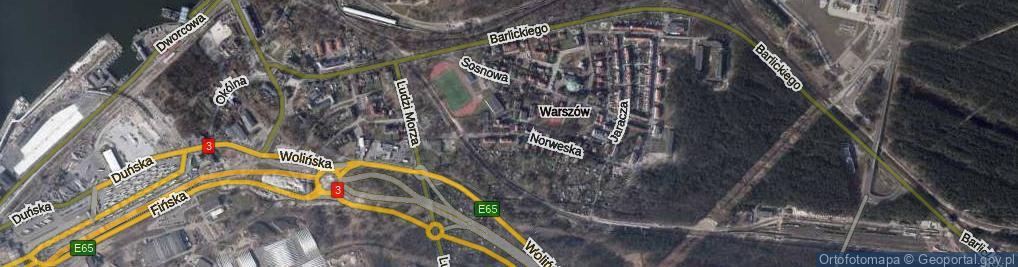 Zdjęcie satelitarne Norweska