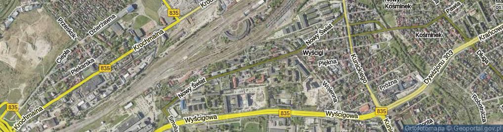 Zdjęcie satelitarne Nowy Świat