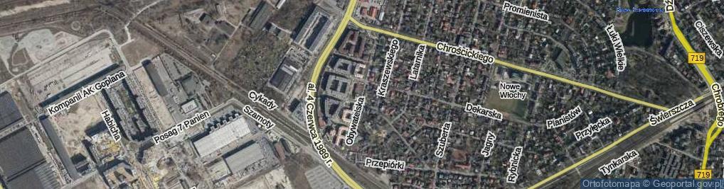 Zdjęcie satelitarne Obywatelska