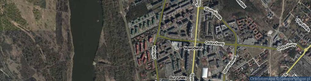 Zdjęcie satelitarne Odkryta