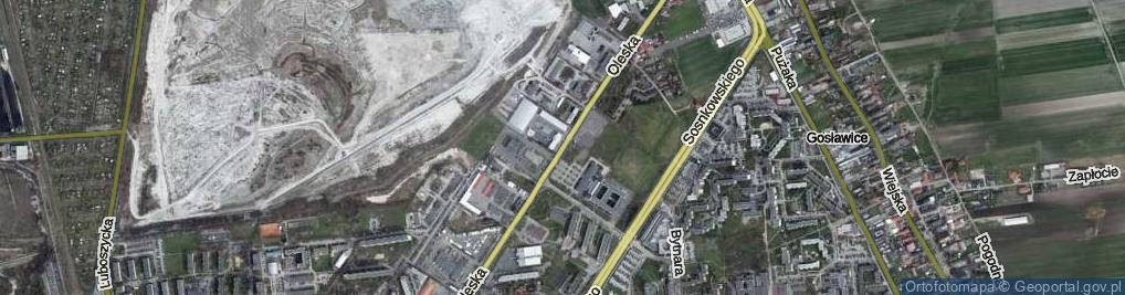 Zdjęcie satelitarne Oleska