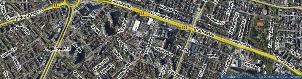 Zdjęcie satelitarne Omulewska ul.