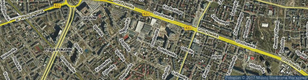 Zdjęcie satelitarne Omulewska