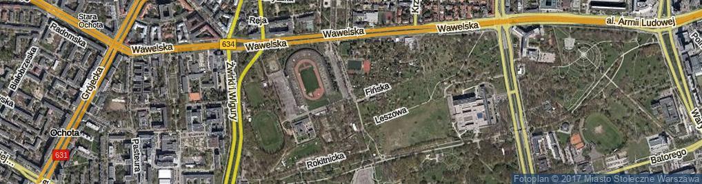Zdjęcie satelitarne Ondraszka