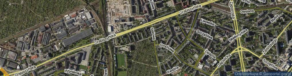 Zdjęcie satelitarne Oporowska ul.
