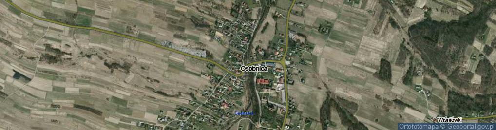 Zdjęcie satelitarne Osobnica