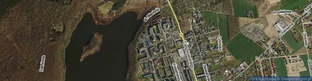 Zdjęcie satelitarne Osiedle Kościuszkowców