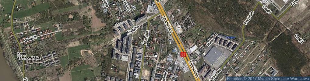 Zdjęcie satelitarne Osiedle