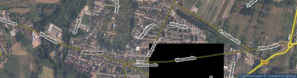 Zdjęcie satelitarne Osiedlowa ul.