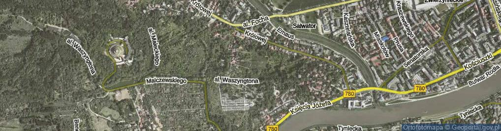 Zdjęcie satelitarne Panoramiczna