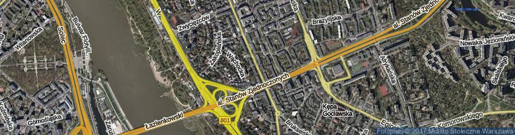 Zdjęcie satelitarne Paryska