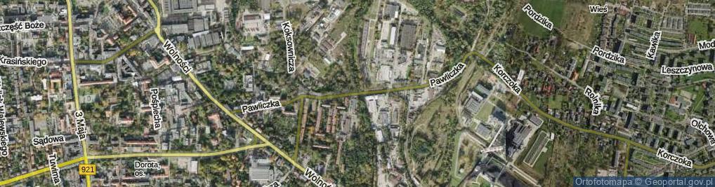 Zdjęcie satelitarne Pawliczka Alojzego
