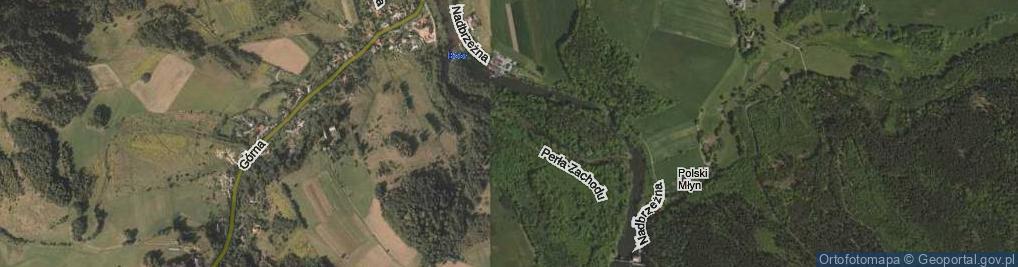 Zdjęcie satelitarne Perła Zachodu