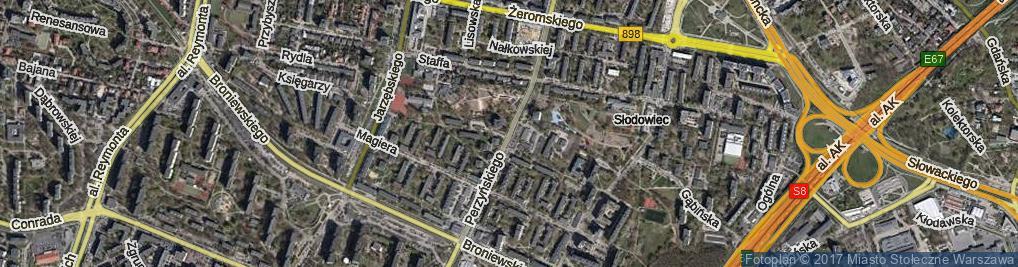 Zdjęcie satelitarne Perzyńskiego Włodzimierza ul.