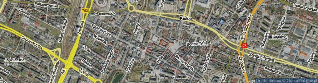 Zdjęcie satelitarne Plac Konstytucji 3 Maja