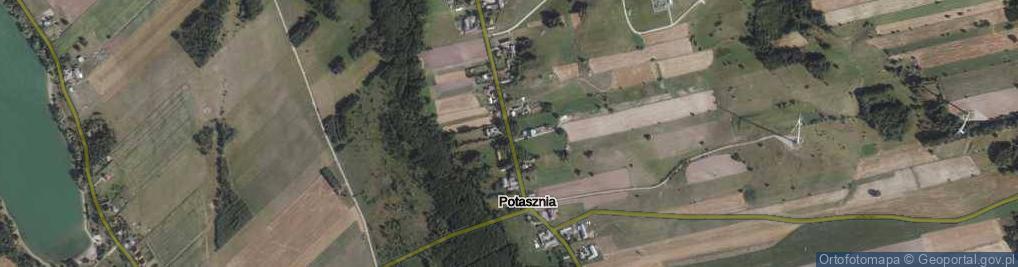 Zdjęcie satelitarne Potasznia ul.