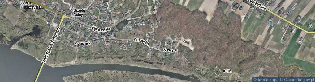 Zdjęcie satelitarne Podmokła ul.