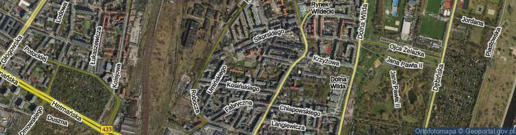 Zdjęcie satelitarne Prądzyńskiego Ignacego
