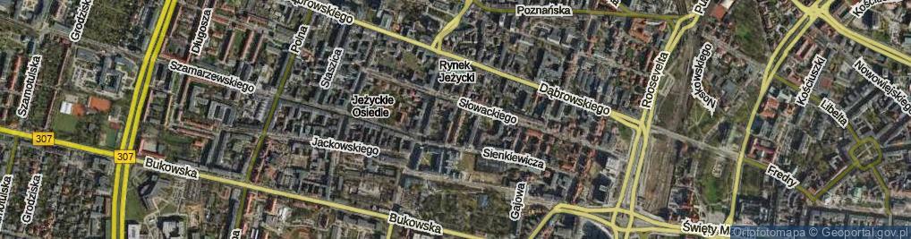 Zdjęcie satelitarne Prusa Bolesława