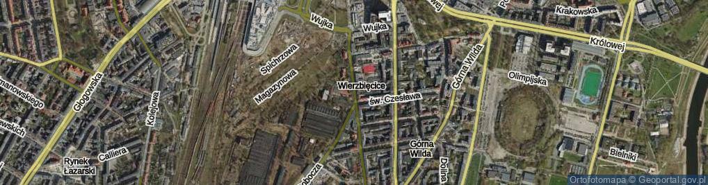 Zdjęcie satelitarne Przemysłowa